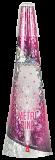 SCHWEIZER VULKAN Metal Pink - Silverfunken + pinke Sterne