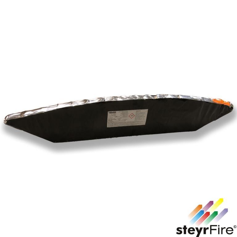 Single FAN  Purple Wave Tail w/silver strobe Mine