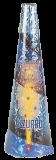 SCHWEIZER VULKAN Azzurro - Goldblüten + blaue Sterne