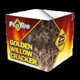 Gold willow cracker